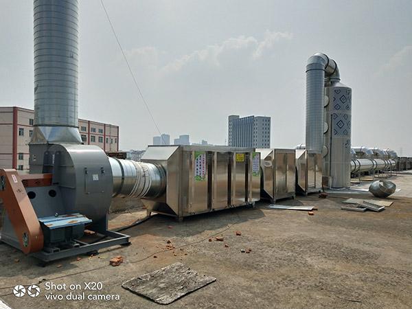 澳纳森的废气处理设备可以解决很多问题