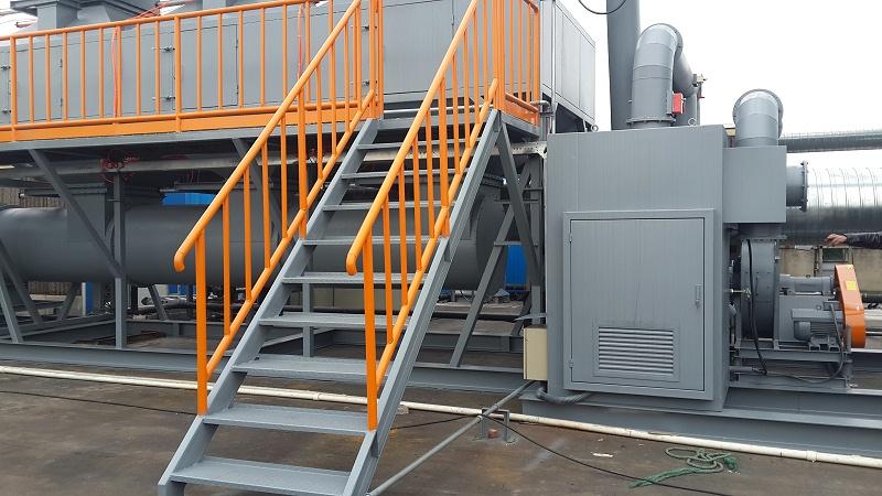 CO催化燃烧设备的原理及使用方法优势