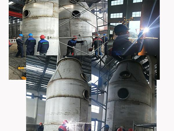 澳纳森蓝军部队——兴化市某工厂最新进展
