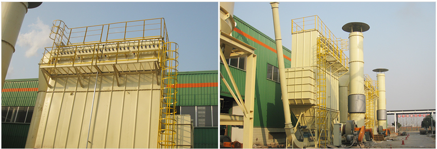 江苏大亚人造板集团工业粉尘处理(二)