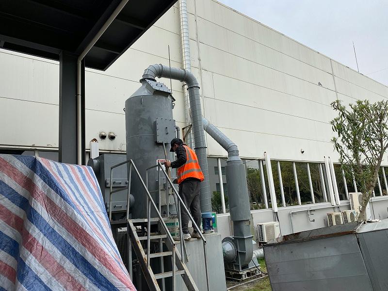 喷漆废气处理设备