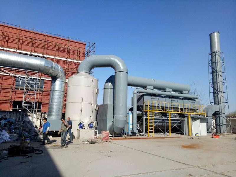 CO催化燃烧设备应用在河北邢台的那些企业——澳纳森