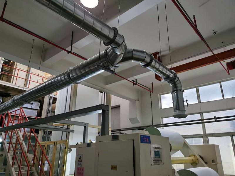 催化燃烧设备解决橡胶塑料造粒废气