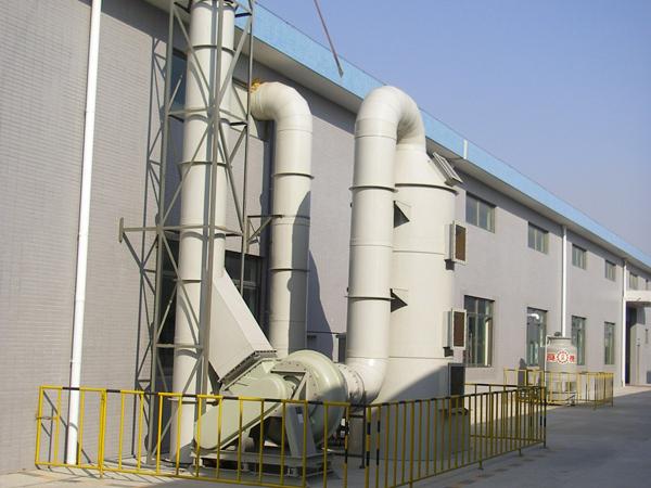 逆流式洗涤塔