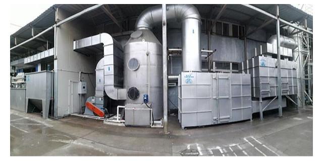 喷涂生产线废气处理