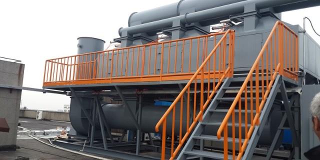 3C高新电子工厂产生的污染用什么废气处理设备
