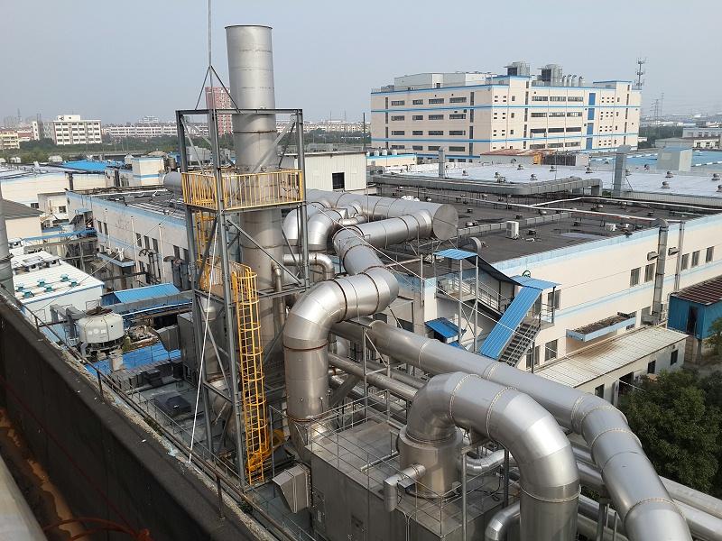 沸石转轮+RTO(绿点科技)