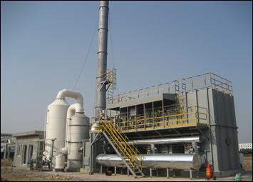 医药化工厂污染废气处理
