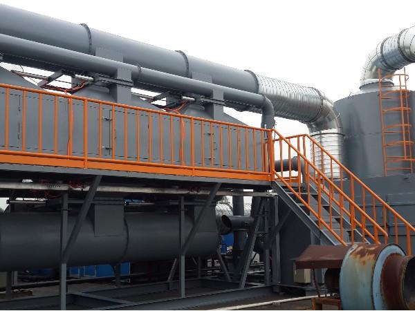 活性炭吸附塔+催化燃烧