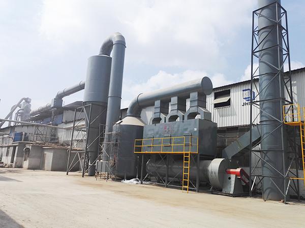 沭阳某木业有机废气处理案例