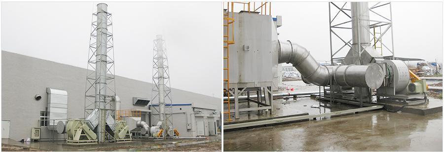 榮馬新能源酸堿廢氣處理(三)
