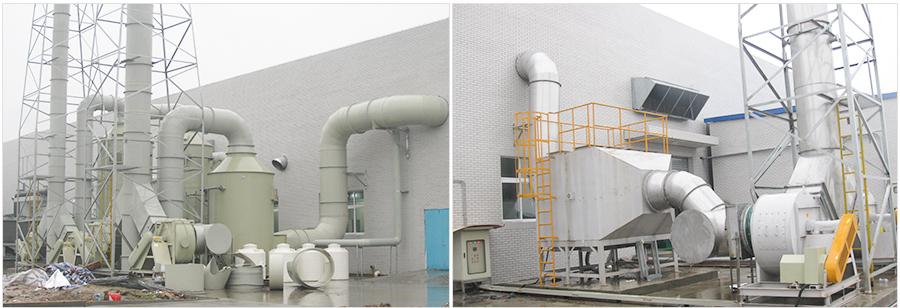榮馬新能源酸堿廢氣處理(一)