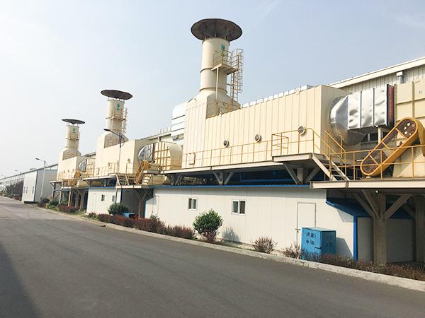 汽车零配件制造厂废气处理