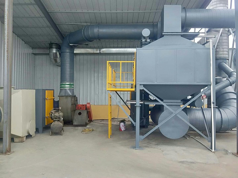 昆山环保厂家澳纳森告诉您催化燃烧设备的组成及适用范围!