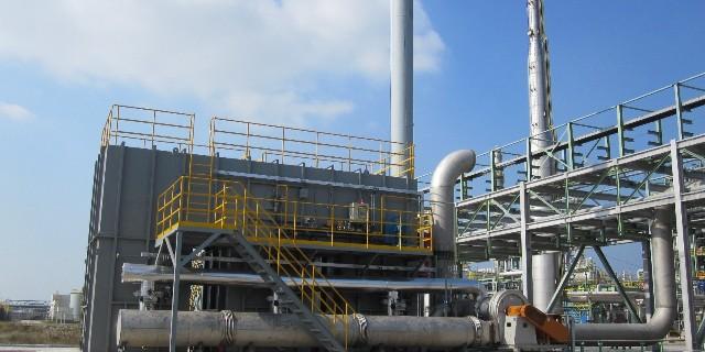 活性炭吸附浓缩与催化燃烧设备