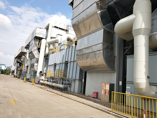 上海某客车有限公司工业废气处理案例