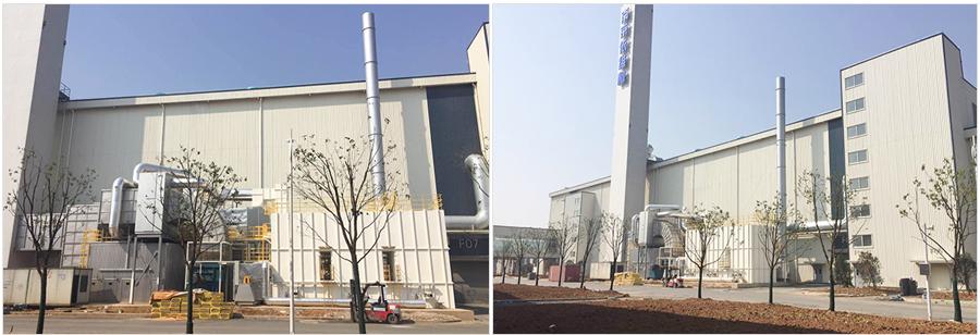 南京依维柯汽车公司工业废气处理案例