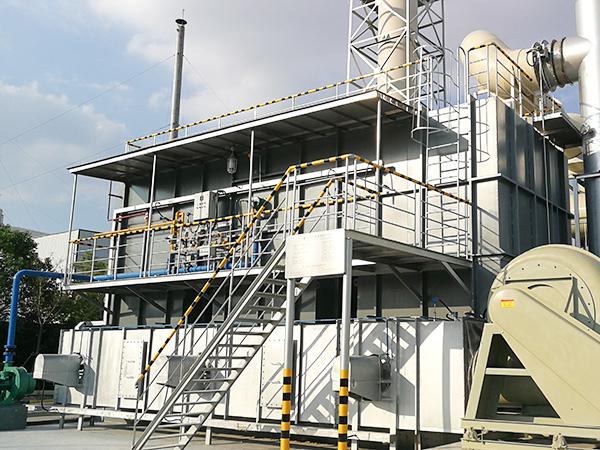 常熟某化工工业废气处理案例
