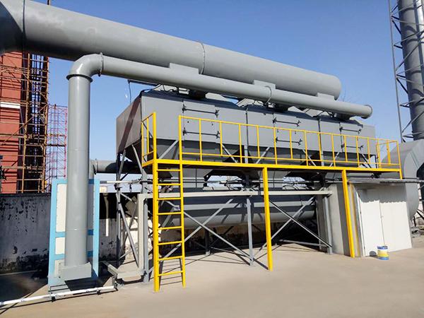 绍兴某塔桅制造公司废气处理案例