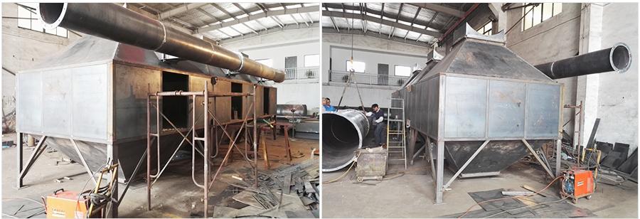绍兴宁远塔桅制造公司废气处理(三)