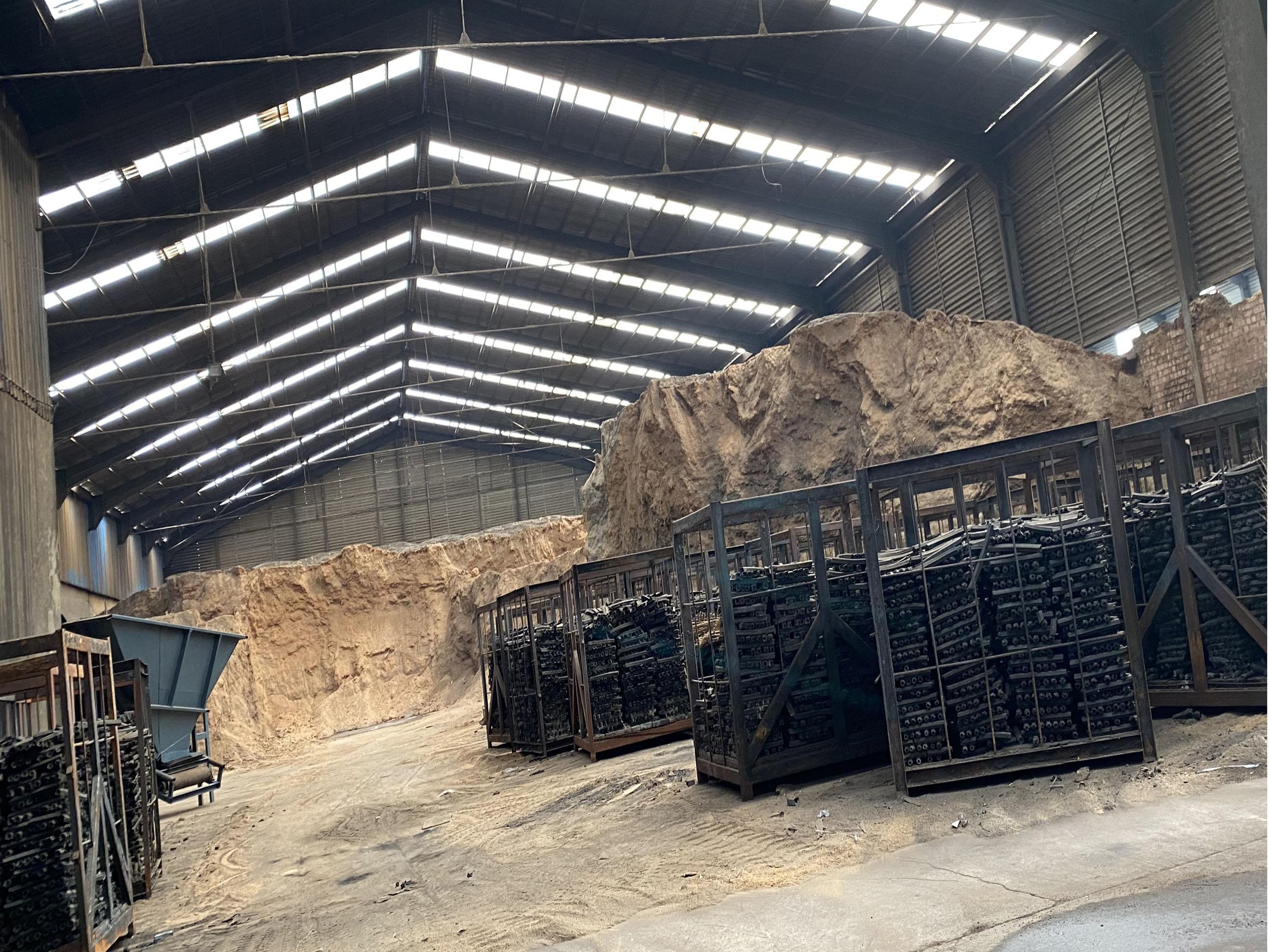 木炭厂实景